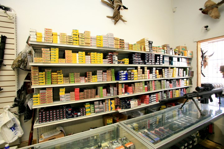 Wide selection of ammunition is available.